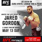 UFC 211: Jared Gordon Earns UFC Opportunity