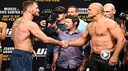 Joe Rogan previews the UFC 211 main event, featuring the heavyweight title fight between Stipe Miocic and Junior Dos Santos.