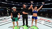 "Watch Cortney ""Cast Iron"" Casey talk with Joe Rogan in the octagon after her impressive win over Jessica Aguilar in Dallas at UFC 211."