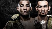 Legend Jose Aldo defends his featherweight title against interim champion Max Holloway in the main event of UFC 212 in Rio de Janeiro, Brazil. In the co-main event, Claudia Gadelha meets Karolina Kowalkiewicz.