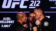From the UFC Summer Kickoff press conference, UFC.com's Matt Parrino and analyst Robin Black preview the UFC 212 main event between Jose Aldo and Max Holloway for the undisputed featherweight title in Brazil on June 3.