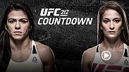 In the UFC 212 co-main event, strawweight contenders Claudia Gadelha and Karolina Kowalkiewicz both look to prove they deserve another title shot, after taking valuable lessons from their action-packed bouts against champion Joanna Jedrzejczyk.