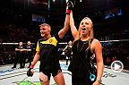Watch Alexander Gustafsson in the Octagon after his victory over Glover Teixeira in the main event of Fight Night Stockholm.
