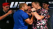 Watch as the stars of UFC 212 faceoff at Media Day, featuring Jose Aldo, Max Holloway and more.
