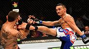 "Max ""Blessed"" Holloway loves to punch people in the face and his spectacular striking game will be on display when he faces UFC featherweight champion Jose Aldo for the undisputed championship on pay per view Saturday in Rio de Janeiro, Brazil."