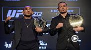 Jose Adlo and Max Holloway meet on Saturday at UFC 212 to unify the UFC featherweight title.