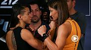 When Claudia Gadelha and Karolina Kowalkiewicz meet in the center of the Octagon at UFC 212, it will be the No. 1-ranked strawweight vs. No. 2 in a battle of strawweight title contenders. Both women want another crack at Joanna Jedrzejczyk.