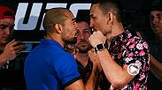 Max Holloway has come to Brazil to take everything Jose Aldo has built for himself as the greatest featherweight in the history of the sport. When it's over, Holloway doesn't want any excuses from the champ.