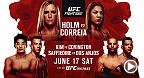 Fight Night Singapore : Holm vs Correia le 17 juin