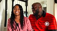 Derrick Lewis was able to turn his life around when he met his fiancee April. He fights in the main event of Fight Night Auckland against fellow heavyweight Mark Hunt Saturday on FS1.
