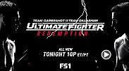 Preview tonight's all-new episode of The Ultimate Fighter: Redemption live on FS1 at 10pm/7pm ETPT.