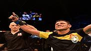 Watch Rafael Dos Anjos talk backstage after his win over Tarec Saffiedine at Fight Night Singapore.
