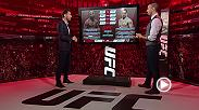 UFC commentators Dan Hardy and John Gooden break down the interim middleweight title fight between No. 1-ranked Yoel Romero and No. 3-ranked Robert Whittaker in the co-main event of UFC 213 in Las Vegas at T-Mobile Arena.