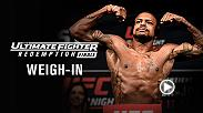 Watch The Ultimate Fighter Finale official weigh-in on Thursday, July 6 at 7pm/4pm ETPT.