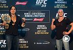 UFC Minute: Nunes, Shevchenko discuss Saturday's Title Fight
