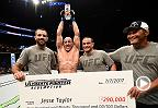 The Ultimate Fighter Finale: Jesse Taylor Octagon Interview