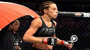 Joanna Jedrzejczyk talked backstage at UFC 213 with Megan Olivi about potentially stepping in at UFC 213 and when her next fight could be.