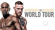 Floyd Mayweather & Conor McGregor embark on a four-city international press tour to announce their Saturday, Aug. 26 blockbuster on SHOWTIME PPV. Watch the first press conference on July 11 at 5pm ET live from the Staples Center in Los Angeles, California