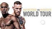 Watch Floyd Mayweather and Conor McGregor as they embark on their final North American press conference stop on Thursday, July 13 at 6:30pm ET live from Barclays Center in Brooklyn, New York.