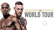 Floyd Mayweather & Conor McGregor embark on a four-city international press tour to announce their Saturday, Aug. 26 blockbuster on SHOWTIME PPV. Watch the presser on Friday, July 14 at 2pm/11am ETPT live from the SSE Arena in London, UK.