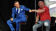UFC president Dana White talks about the awesome world tour that Floyd Mayweather and Conor McGregor just completed in London after stops in Los Angeles, Toronto and Brooklyn. The two meet on Aug. 26 in boxing bout in Las Vegas.
