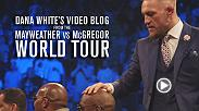 Dana White and Conor McGregor are in London looking to rebound from a chaotic event the day before. In front of a raucous European crowd, the birthday boy returns to form and ends the spectacular trip with one more triumphant staredown.