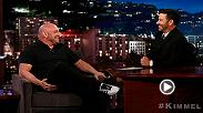 Dana talks on Jimmy Kimmel about the big upcoming fight between Conor McGregor and Floyd Mayweather, explains why he thinks Conor has a chance, whether or not Donald Trump will attend and the process and more.