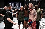 Laura Sanko catches up with an excited Kyle Steward backstage at Dana White's Tuesday Night Contender Series following his TKO over Jason Jackson.