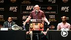 UFC.com's Matt Parrino and Adam Hill from the Las Vegas Review Journal discuss Wednesday's UFC 214 press conference from Novo in LA Live, where Daniel Cormier, Jon Jones, Tyron Woodley, Demian Maia, Cris Cyborg and Tonya Evinger all appeared.