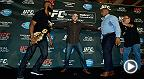 From their original bout scheduled at UFC 178 all the way through to UFC 214 weigh-ins on Friday, watch all the staredowns in the history of the Daniel Cormier vs. Jon Jones saga. The two pound-for-pound greats meet Saturday night on Pay Per View.