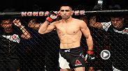 Watch Ricardo Lamas in the Octagon after his win over Jason Knight at UFC 214.