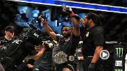Hear Tyron Woodley talk about his style and strategy against Demian Maia that allowed him to go the distance and remain the welterweight champ at UFC 214 in Anaheim, CA.