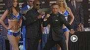 Recap the action from Wednesday's Mayweather vs McGregor Final Press Conference.