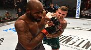 Watch Allen Crowder after his victory over Don'Tale Mayes in Week 8 of Dana White's Tuesday Night Contender Series.