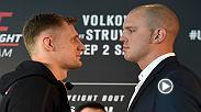 Preview the main event for Fight Night Rotterdam. which features the heavyweight matchup between Alexander Volkov and Stefan Struve.