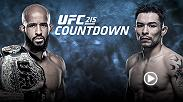 On the verge of breaking Anderson Silva's record for title defenses, Demetrious Johnson braces for a career-making moment. But Ray Borg, training at an elite camp, is focused on playing spoiler en route to holding the UFC's flyweight title.