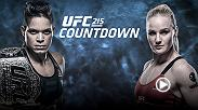 Women's bantamweight champion Amanda Nunes and challenger Valentina Shevchenko prepare for their rematch... for a second time. Go inside the camps of both title bout fighters in UFC 215 Countdown.