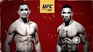 Tony Ferguson and Kevin Lee will fight for the interim lightweight title in the main event at UFC 216 on Oct. 7 live from Las Vegas.