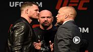 Watch the UFC 217 Pre-Fight Press Conference on Friday, October 6 at 6:30pm/3:30pm ETPT, featuring stars Michael Bisping, Georges St. Pierre, Cody Garbrandt, TJ Dillashaw, Joanna Jedrzejczyk and Rose Namajunas.