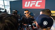 Interim title lightweight contenders Tony Ferguson and Kevin Lee traded jabs during an interview before their matchup at UFC 216.