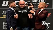 Watch the highlights from the UFC 217 press conference, featuring main event stars Michael Bisping and Georges St-Pierre.