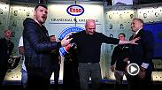 Watch UFC 217 main event stars Michael Bisping and Georges St-Pierre face-off after their press conference in Toronto, Canada Friday.