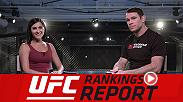 UFC Rankings Report unveils a new look along with the latest set of rankings. Hosts Megan Olivi and Forrest Griffin discuss the rankings debut of Darren Till, UFC 217's three title fights, Demetrious Johnson and the great trash talkers of all time.