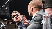 Watch as Michael Bisping and Georges St-Pierre face off at the pre-fight press conference for UFC 217 at Madison Square Garden ahead of their middleweight title bout Saturday night. Order UFC 217 now: http://www.ufc.com/ppv