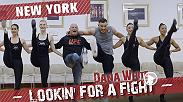 Dana White andMatt Serra visit New York City with Gian Villante. The guys join the New York Mets in Queens and much more. For Matt's birthday, they head to some fights in New Jersey to scout UFC prospects, including a couple of Serra's proteges.