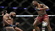 Ovince Saint Preux speaks from The Octagon following his thrilling knockout head kick of Corey Anderson at UFC 217.
