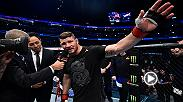 Watch Kelvin Gastelum and Michael Bisping in the Octagon after their main event fight in Shanghai, China.