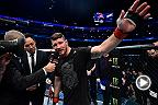 Fight Night Shanghai: Kelvin Gastelum & Michael Bisping Octagon Interview