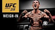 Watch the UFC 218 official weigh-in on Friday, Dec. 1 at 6pm/3pm ETPT live from Little Caesar's Arena in Detroit, Michigan.
