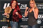 UFC 219: Cyborg vs Holm - Media Day Face-off